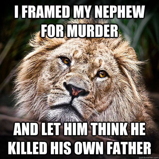I framed my nephew for murder and let him think he killed his own father - I framed my nephew for murder and let him think he killed his own father  Misc