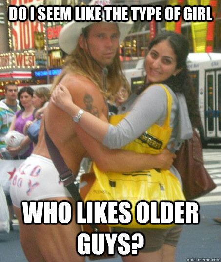 Do girls like older guys