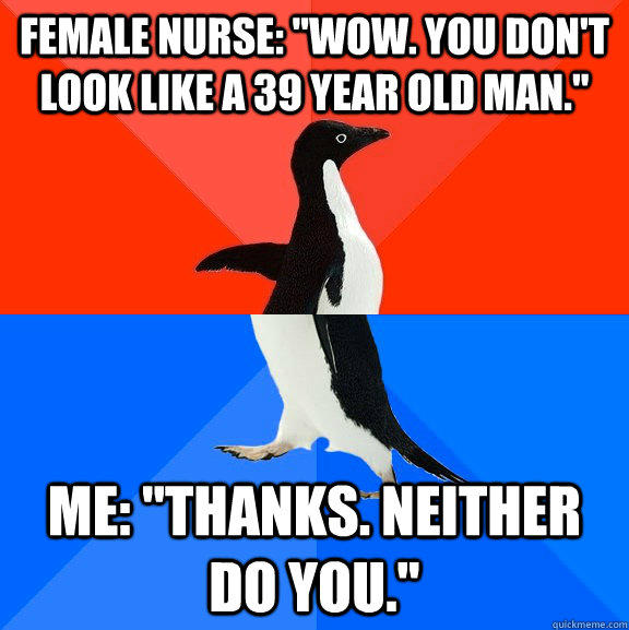 Female nurse: