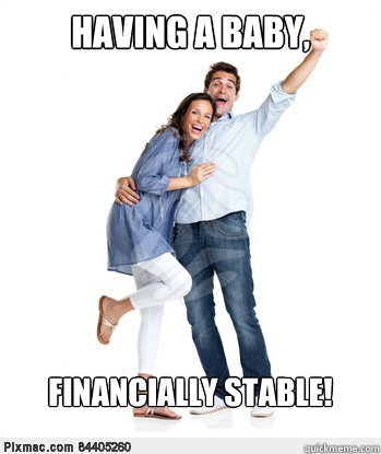 Having a Baby, Financially Stable! - Having a Baby, Financially Stable!  Victory Couple