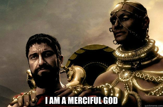 I am a merciful god -  I am a merciful god  Misc