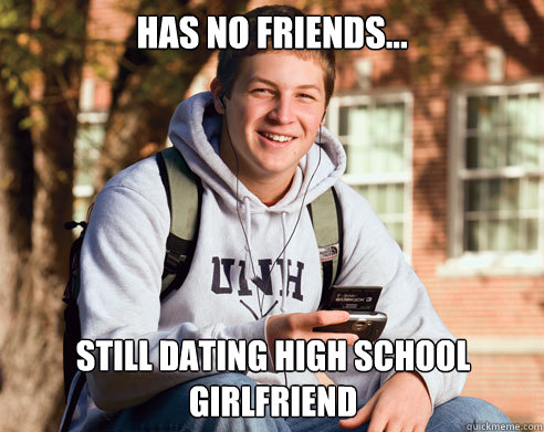no friends and dating