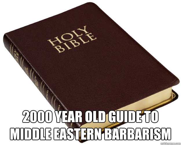 2000 YEAR OLD GUIDE TO MIDDLE EASTERN BARBARISM