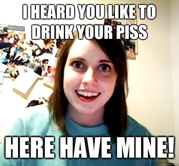 Drink piss com