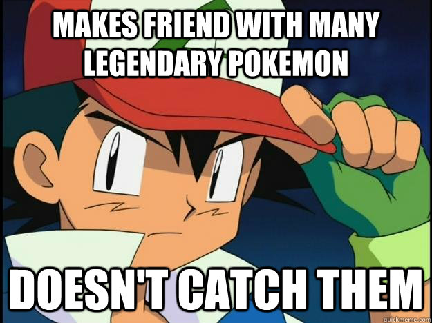 Final, sorry, Funny pokemon memes ash not