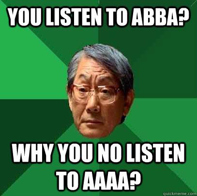 Image result for abba meme