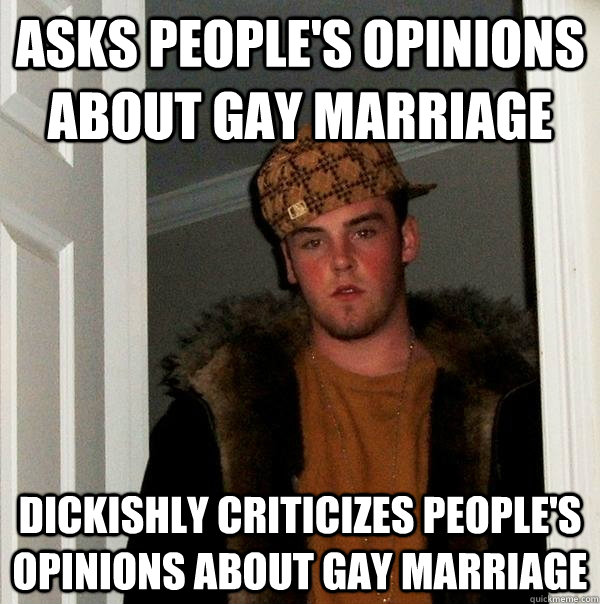Opinions Of Gay Marriage 11