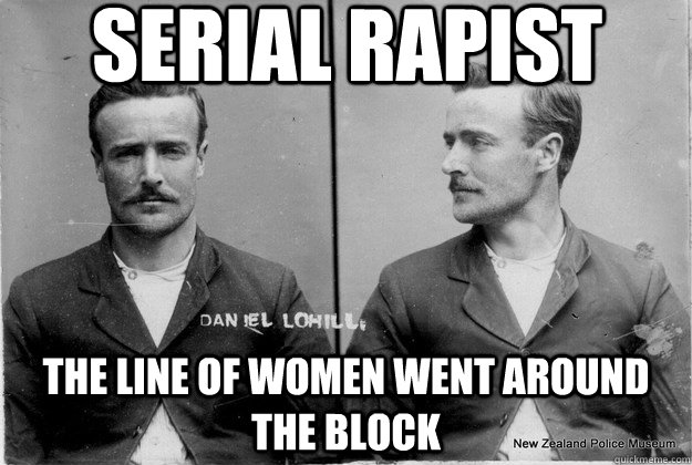serial rapist the line of women went around the block