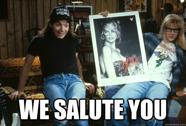 We Salute you -  We Salute you  Misc