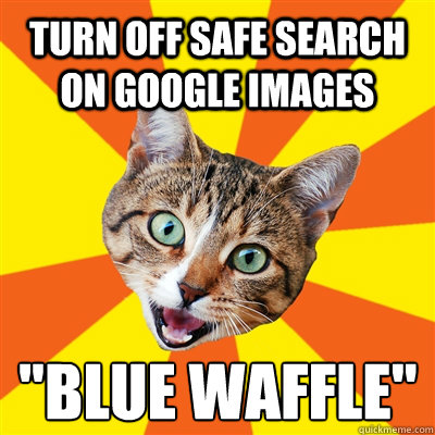 Turn off safe search on google images