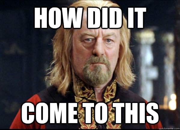 Theoden Lord of the Rings meme