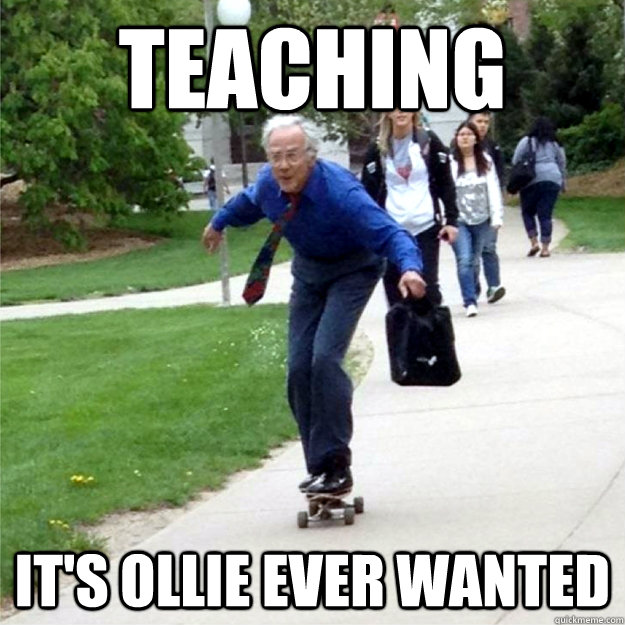 TEACHING IT's OLLIE EVER WANTED - TEACHING IT's OLLIE EVER WANTED  Skating Prof