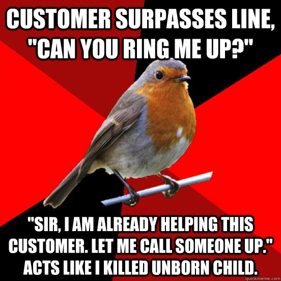 Customer surpasses Line,