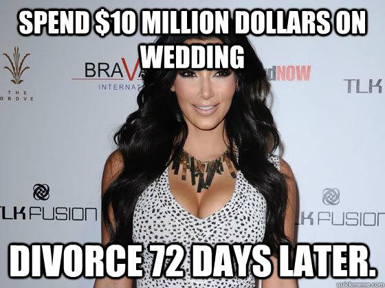 Funny Memes For Divorce : Scumbag kim kardashian memes quickmeme