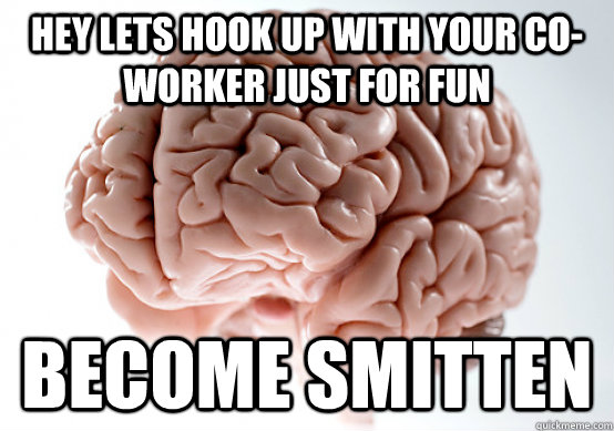 Hey Lets Hook Up With Your Co Worker Just For Fun Become Smitten
