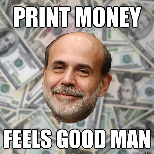 print money feels good man