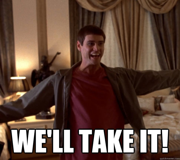 WE'LL TAKE IT! -  WE'LL TAKE IT!  Lloyd