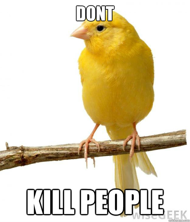 Dont kill people - Dont kill people  Misc