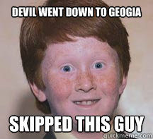Devil went down to geogia skipped this guy