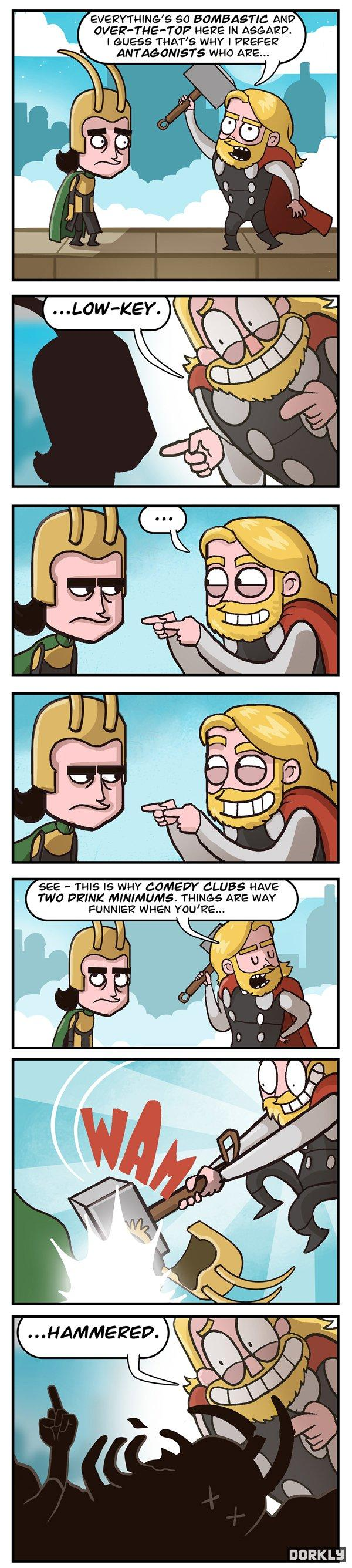 The Mighty Thor Odin-Pun -   Misc