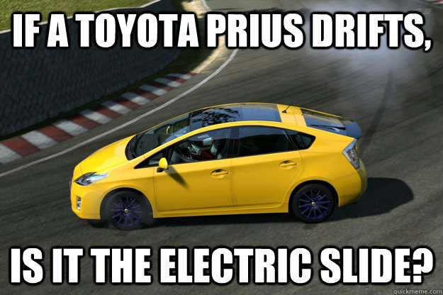 If A Toyota Prius Drifts Is It The Electric Slide Prius Slide