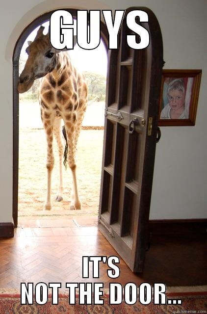 giraffe riddle - GUYS IT'S NOT THE DOOR... Misc