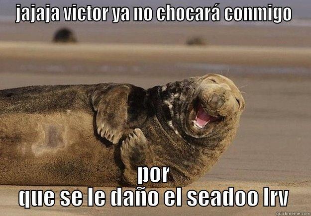 sea doo jokes - JAJAJA VICTOR YA NO CHOCARÁ CONMIGO POR QUE SE LE DAÑO EL SEADOO LRV Sea Lion Brian