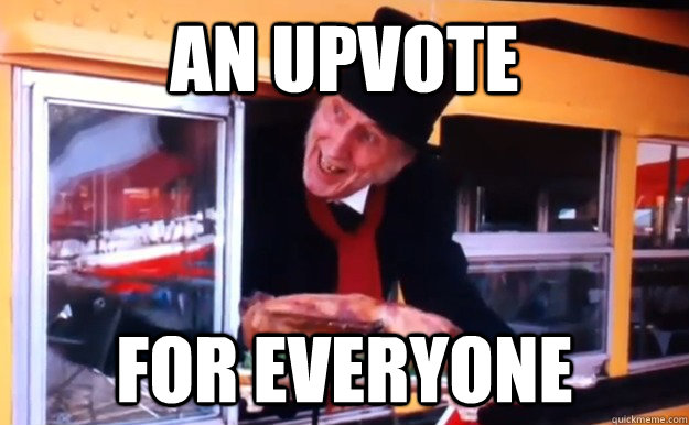 An Upvote For everyone