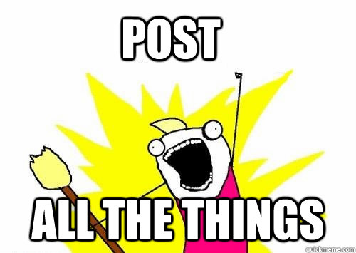 Post  All the things - Post  All the things  Do all the things