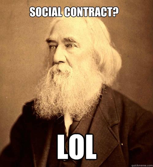 Social Contract? LOL