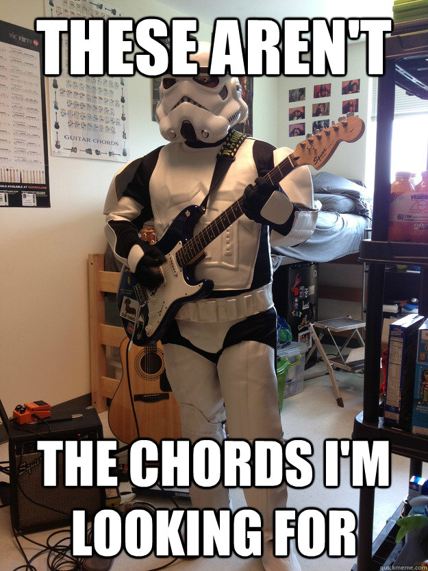 These aren't  The chords I'm looking for - These aren't  The chords I'm looking for  Misc
