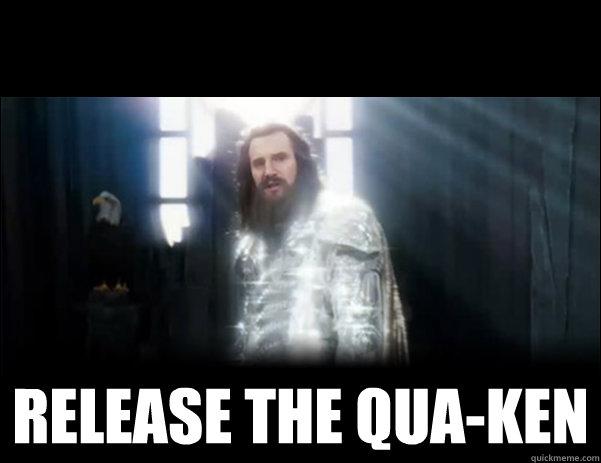 RELEASE THE QUA-KEN -  RELEASE THE QUA-KEN  Release the Kraken!