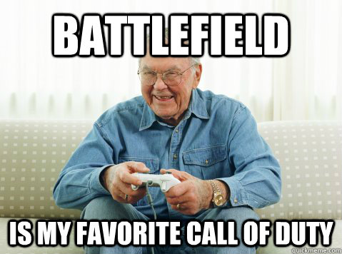 Battlefield is my favorite Call of Duty