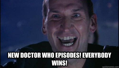 NEW DOCTOR WHO EPISODES! EVERYBODY WINS!