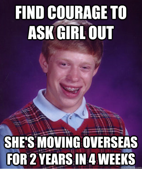 Courage to ask a girl out