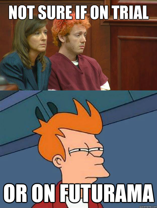 not sure if on trial or on futurama - not sure if on trial or on futurama  Misc