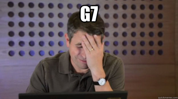 G7  - G7   Facepalm Matt Cutts