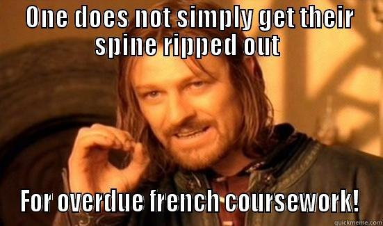 How to get an A* in French coursework?