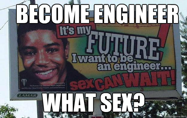 Become Engineer what sex?