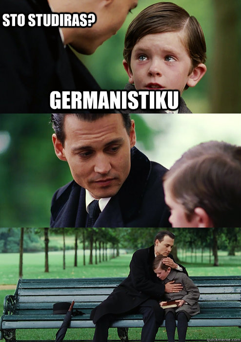 Germanistiku Sto studiras?