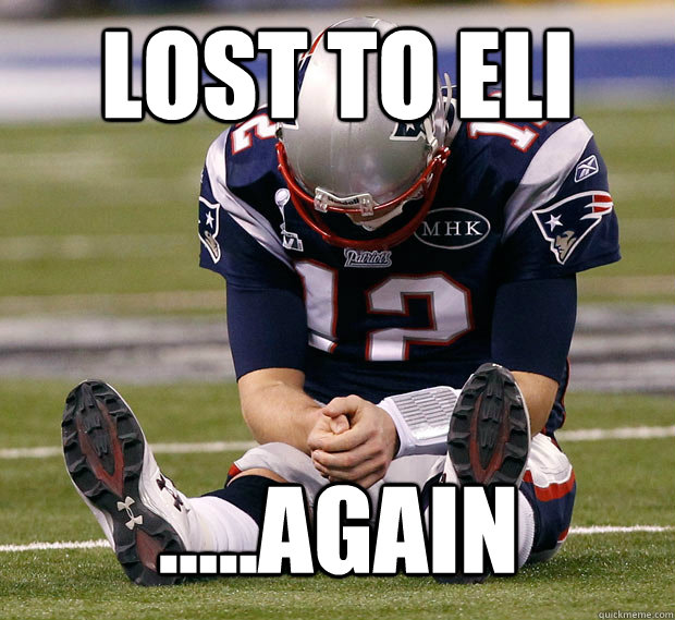 lost to eli .....again