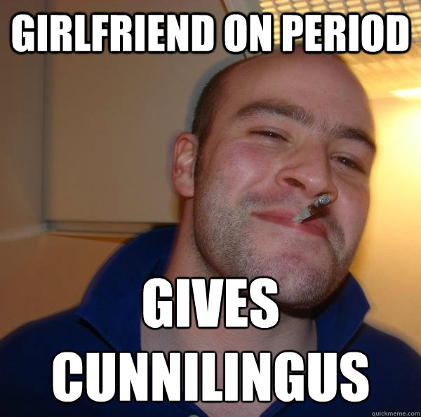 girlfriend on period gives  cunnilingus - girlfriend on period gives  cunnilingus  Misc