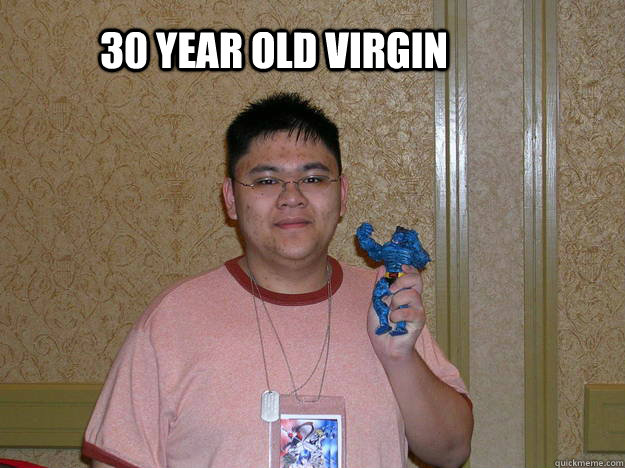 Dating 30 year old male virgin