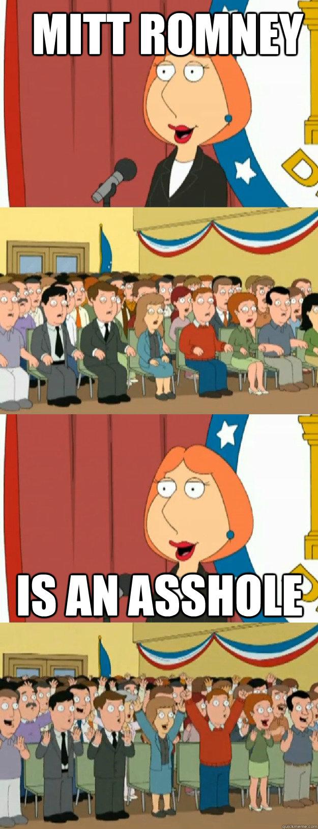 asshole Lois griffin