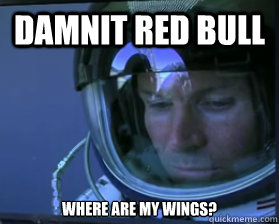 damnit red bull where are my wings? - damnit red bull where are my wings?  Forlorn Felix