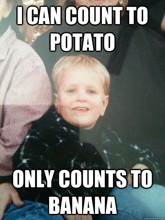 count to potato