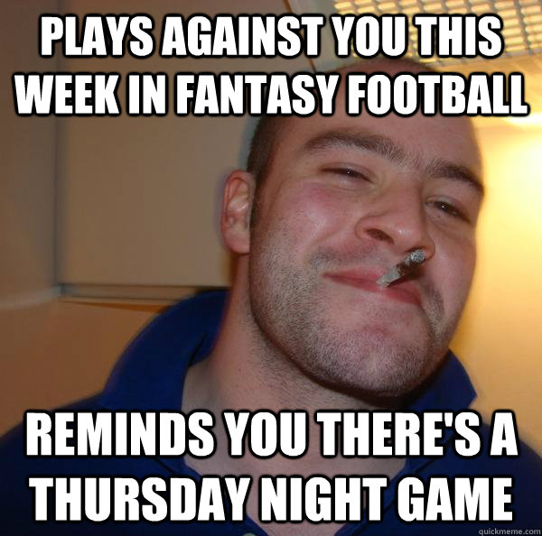 football s who plays on thursday night football this week