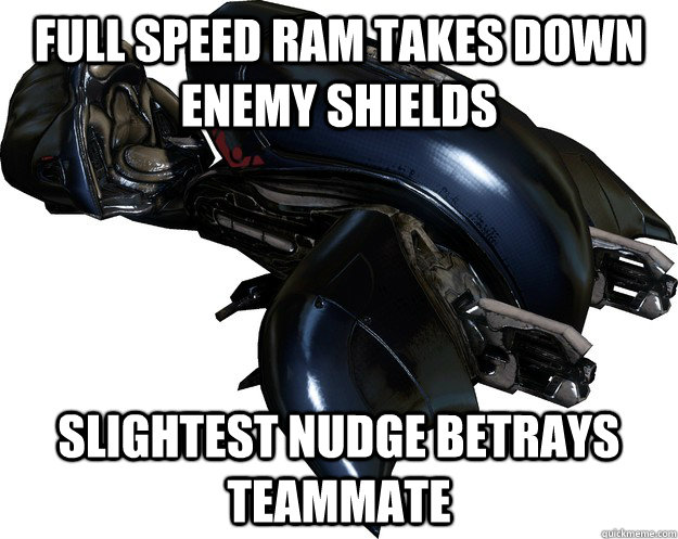 Full speed ram takes down enemy shields slightest nudge betrays teammate - Full speed ram takes down enemy shields slightest nudge betrays teammate  Scumbag Halo 4 Ghost