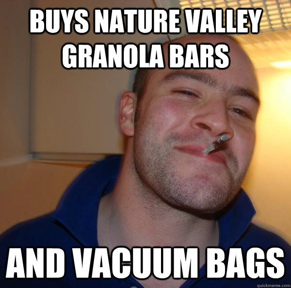 Buys Nature Valley Granola Bars And Vacuum Bags Misc Quickmeme