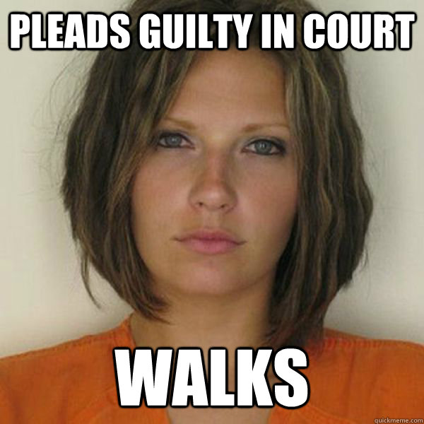 pleads guilty in court walks - pleads guilty in court walks  Attractive Convict